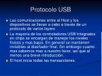 protocolo usb