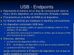 usb endpoints