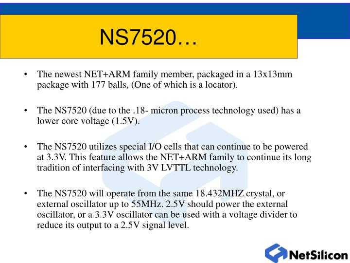 NS7520…