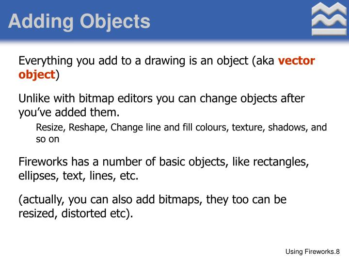 Adding Objects