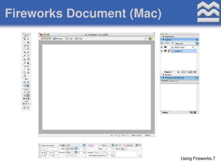 Fireworks Document (Mac)
