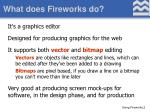 what does fireworks do