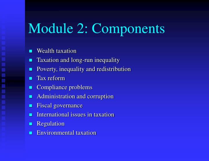 Module 2: Components