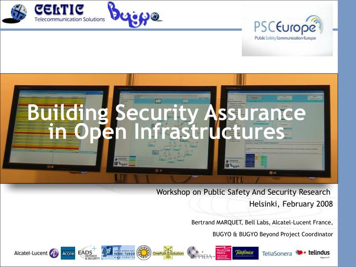 Building security assurance in open infrastructures