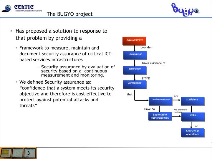 The bugyo project