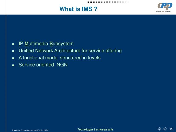 What is IMS ?