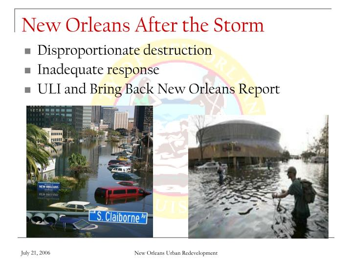 New Orleans After the Storm