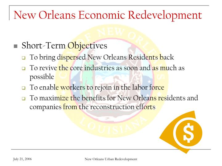 New Orleans Economic Redevelopment