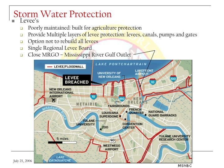 Storm Water Protection
