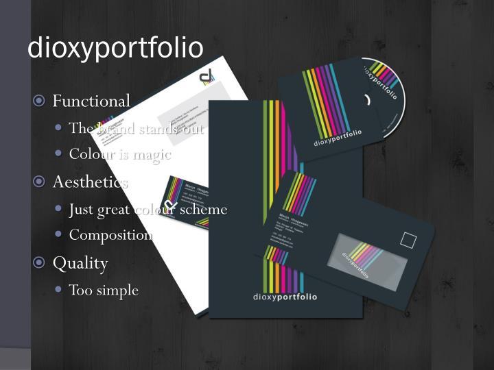 dioxyportfolio