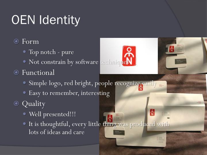OEN Identity