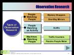 observation research1