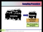 sampling procedure1