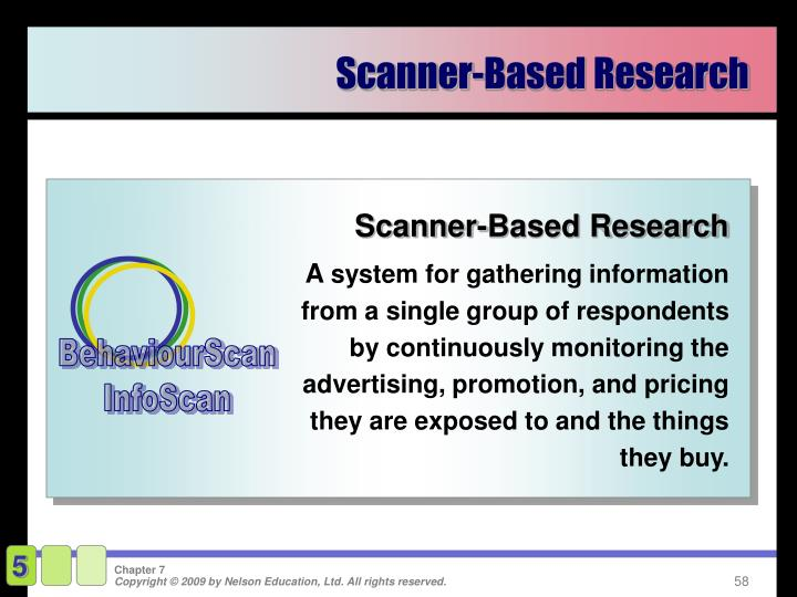 Scanner-Based Research