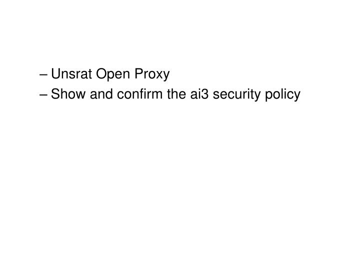 Unsrat Open Proxy