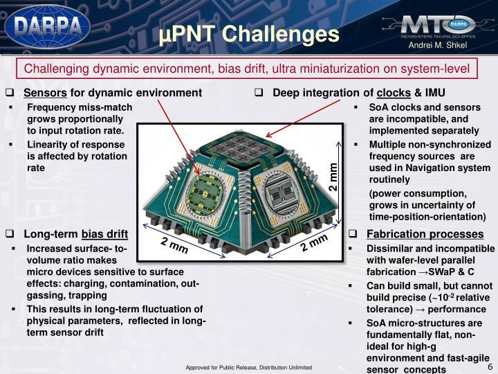 µPNT Challenges