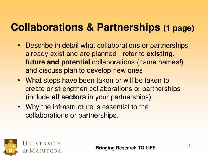 Collaborations & Partnerships