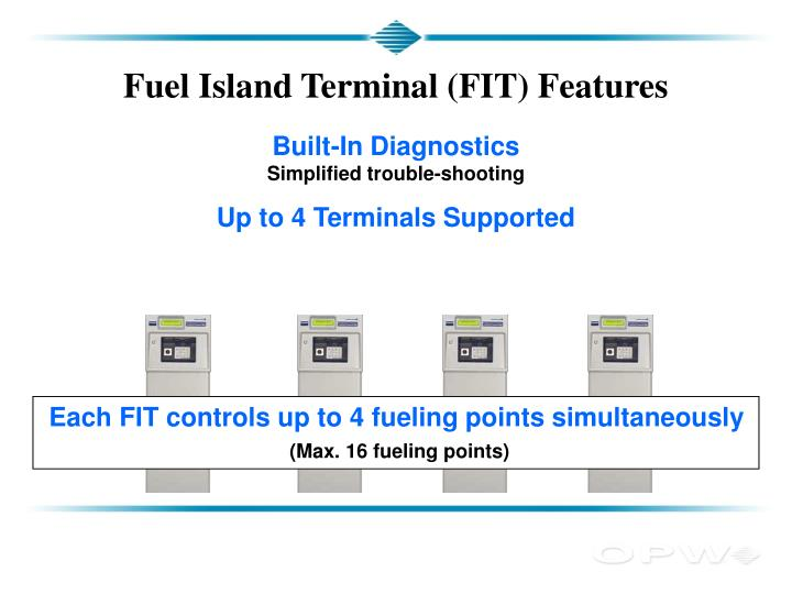 Fuel Island Terminal (FIT) Features