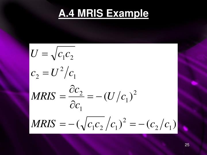 A.4 MRIS Example