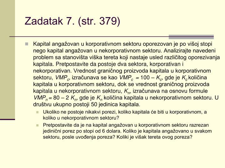 Zadatak 7. (str. 379)