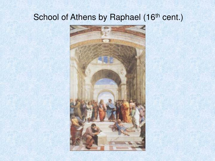 School of Athens by Raphael (16