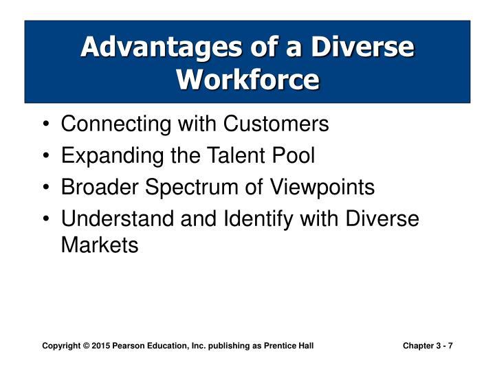 Advantages of a Diverse Workforce