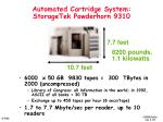 automated cartridge system storagetek powderhorn 9310