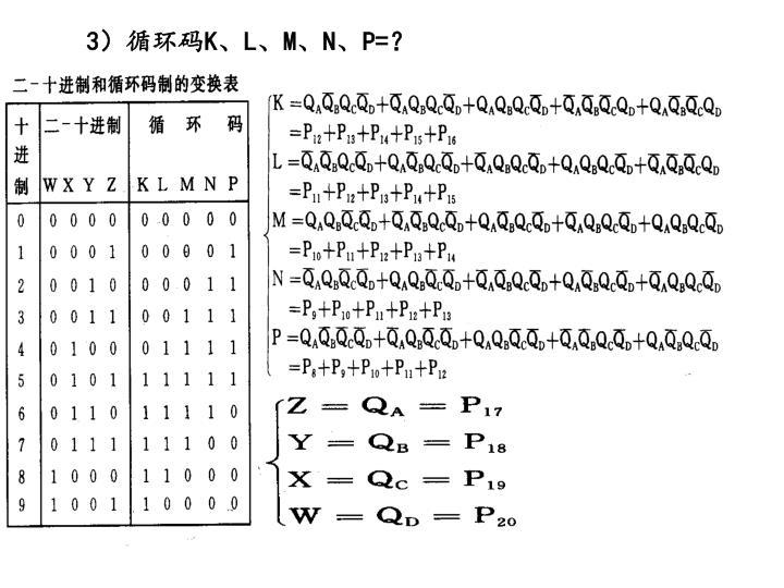 3)循环码