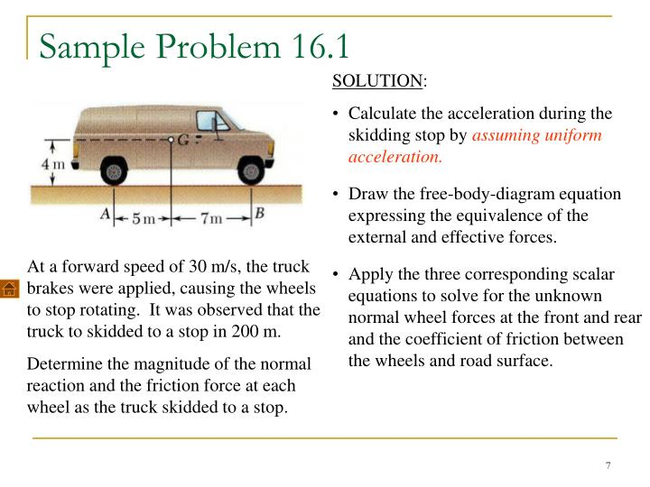 PPT - Plane Motion of Rigid Bodies: Forces and ...