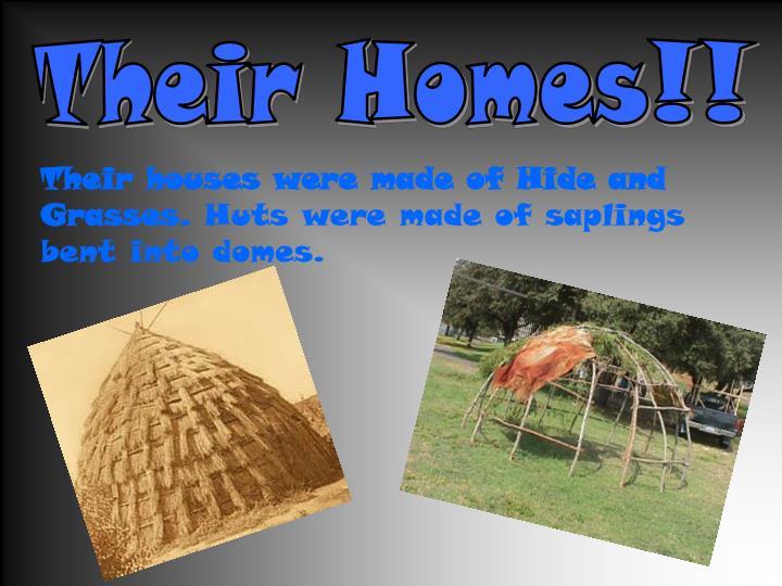Their Homes!!