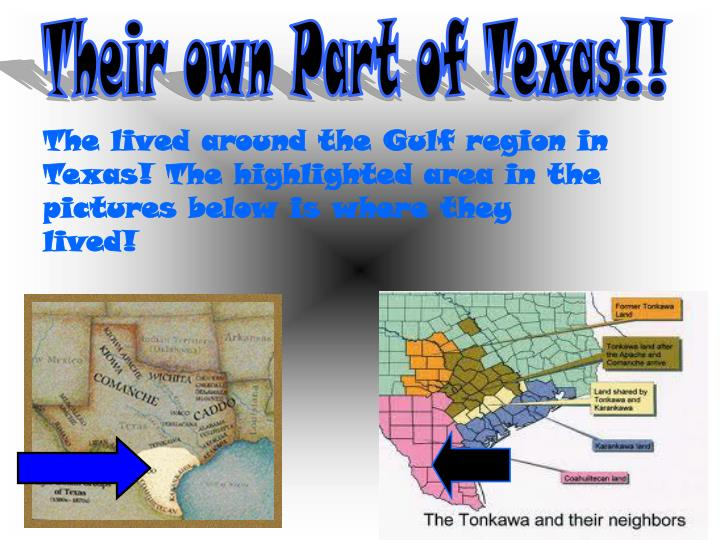 Their own Part of Texas!!