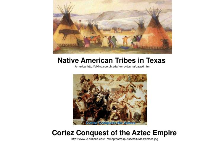 Native American Tribes in Texas