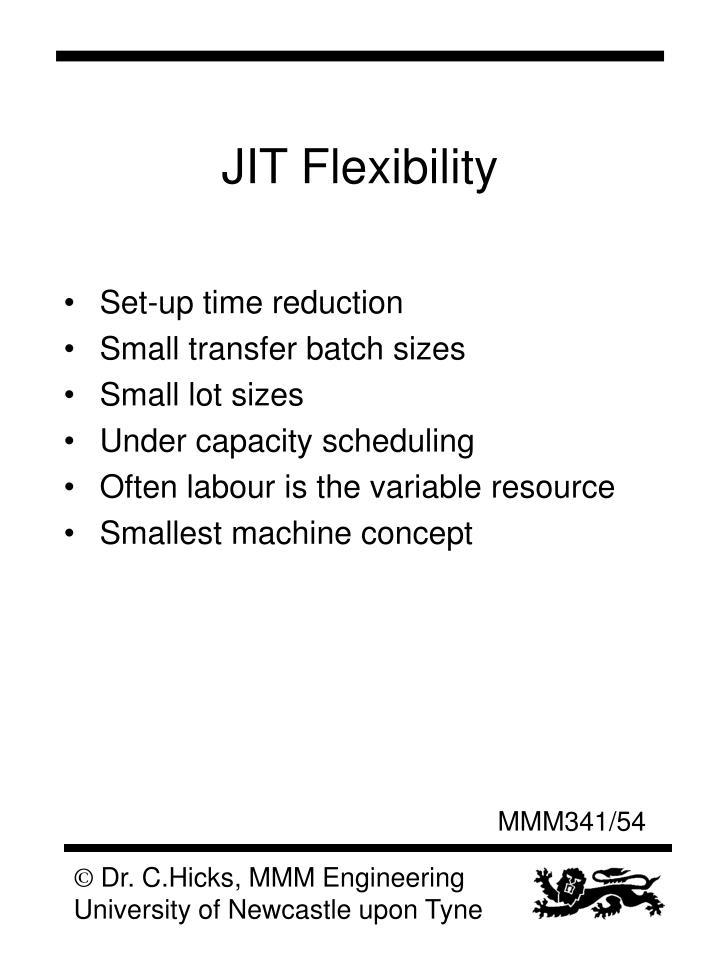 JIT Flexibility