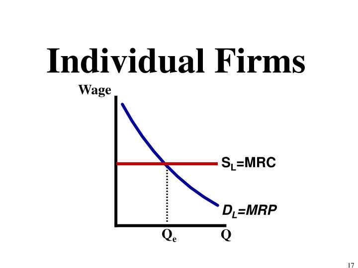 Individual Firms