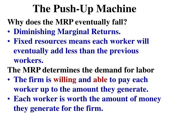 The Push-Up Machine