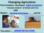 changing agriculture2