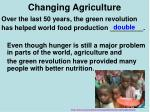 changing agriculture4