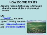 how do we fix it