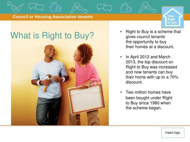 Council or Housing Association tenants