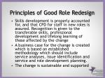 principles of good role redesign3