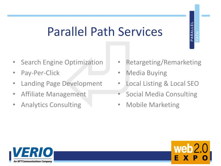 Parallel Path Services