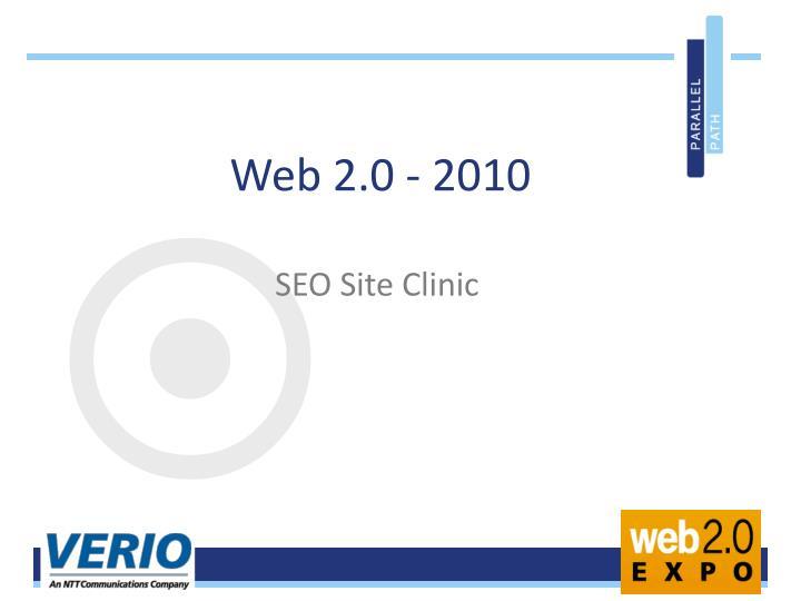 Web 2.0 - 2010