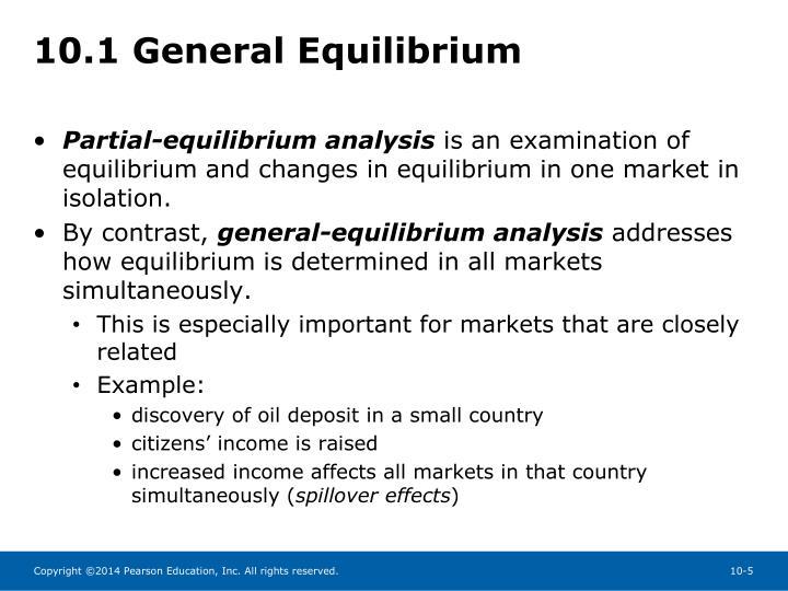 10.1 General Equilibrium