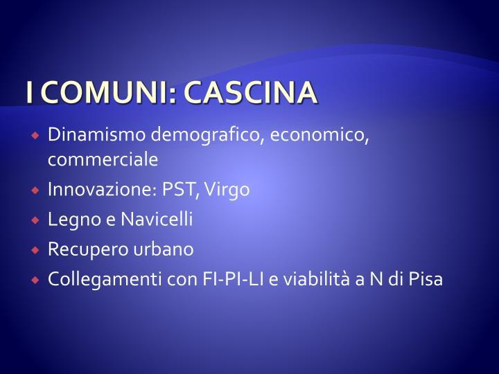 I COMUNI: CASCINA