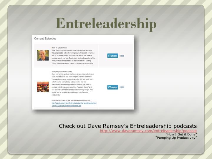 Entreleadership