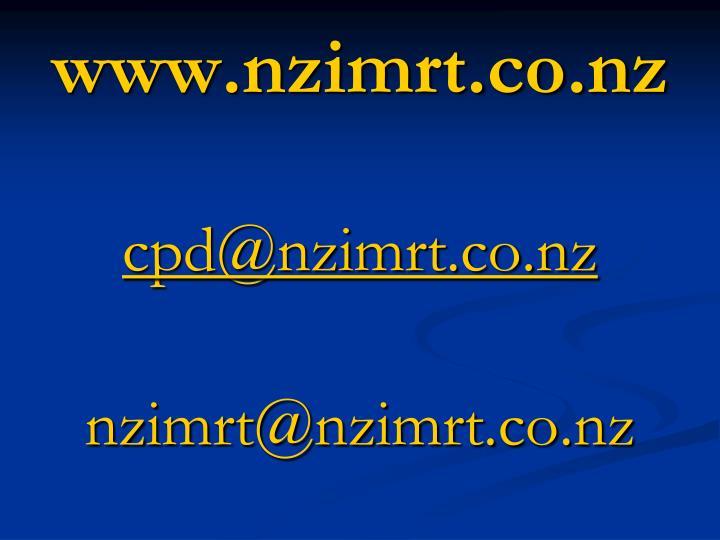 www.nzimrt.co.nz