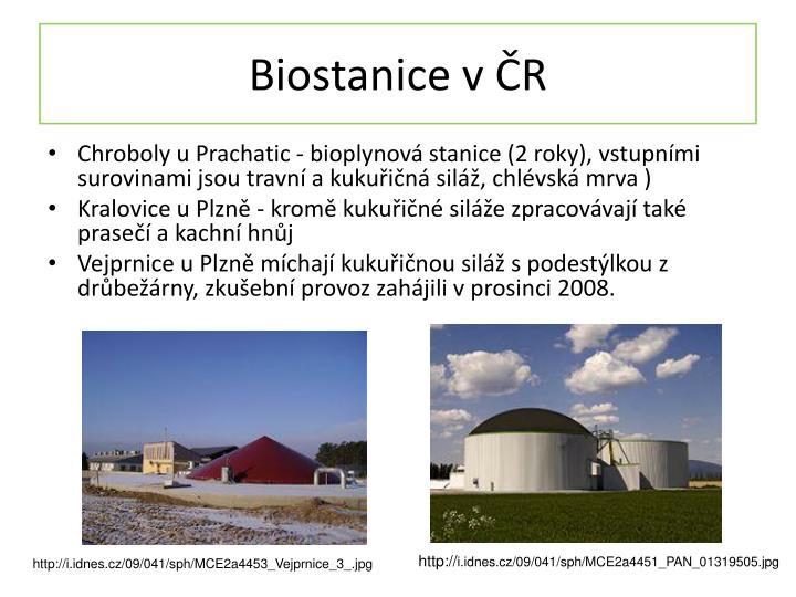 Biostanice v ČR