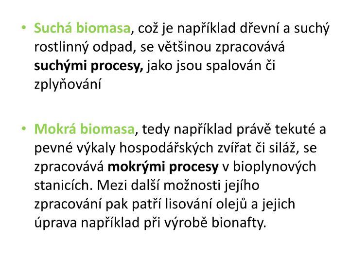 Suchá biomasa