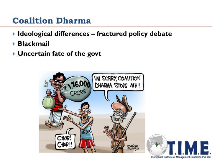 Coalition Dharma