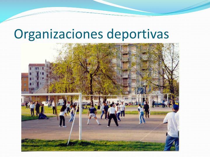 Organizaciones deportivas